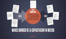 MARCO JURIDICO DE LA CAPACITACION EN MEXICO