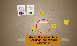 James Chaney, AndrewGoodman, Michael Schwerner