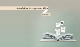 Annabel lee & Edgar Poe Allem