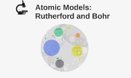 Atomic Models: Rutherford and Bohr