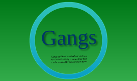 Reasearch Paper: Gangs