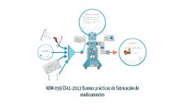 NOM-059-SSA1-2013 Buenas prácticas de fabricación de medicam