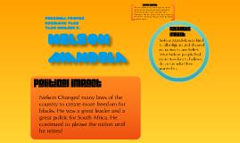 Prfile Reserch task: Nelson Mandela