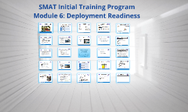 2016 Mod 6: Deployment Readiness