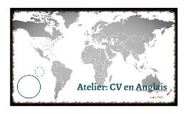 Atelier: CV en Anglais