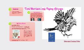 Toni Morrison i mit Flying Africans