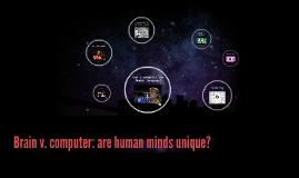 Brain v. computer