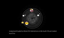 Social Capital & HIV