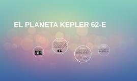 EL PLANETA KLEPER 62-E