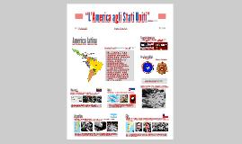 """""""L'America agli Stati Uniti"""""""