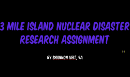 3 Mile island nuclear disaster