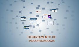 Copy of DEPARTAMENTO DE PSICOPEDAGOGIA