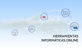 HERRAMIENTAS INFORMÁTICAS ONLINE