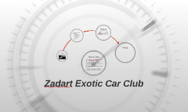 Zadart Exotic Car Club