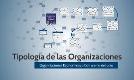Tipología de las Organizaciones