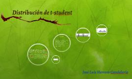 Distribución de t-student