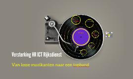 Versterking HR ICT Rijksdienst