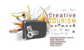 Propuesta comunicación - Creative Tourism Network