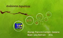 Ambientes Aquáticos