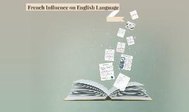 French Influence on English Language