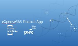 eXpense365 Finance App