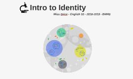 Intro to Identity