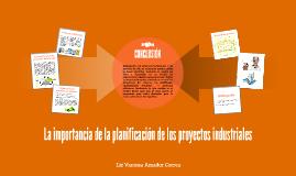 La planificación de los proyectos en la industria