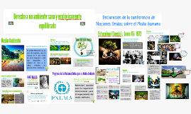 Derecho a un ambiente sano y ecológicamente equilibrado