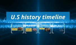 U.S history timline