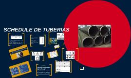 Copy of SCHEDULE DE TUBERIAS