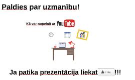 Kā var nopelnīt ar YouTube