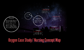 Oxygen Case Study/ Nursing Concept Map