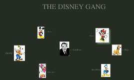 the disney gang.