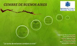 Cumbre de Buenos Aires