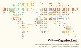 Culturas organizacionales