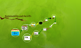 Sustainability and the 6 R's
