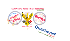 Copy of ICSM Year 2 Revision & Firms