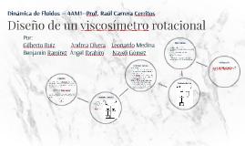 Diseño de un viscosímetro rotacional