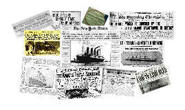 The Titanic Headlines
