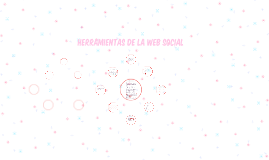HERRAMIENTAS DE LA WEB SOCIAL