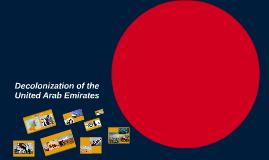 Decolonization of the United Arab Emirates