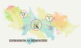 Copy of ExpeRIMENTO: LA FOTOSINTESIS