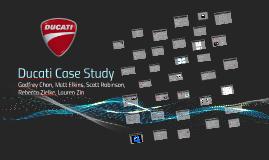 ducati case analysis
