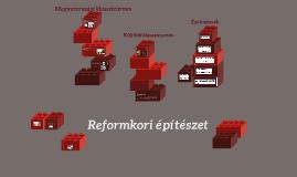 Reformkori építészet
