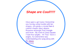 Shape are Cool!!!!!
