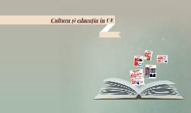 Cultura și educația în UE