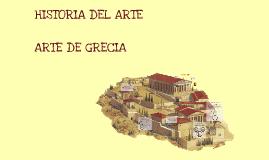 Copy of Historia del arte griego