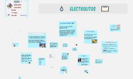 Copy of Tipos de Electrolitos  en la sangre