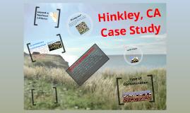 Hinkley, California Case Study