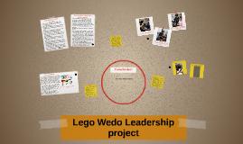 Lego Wedo Leadership project